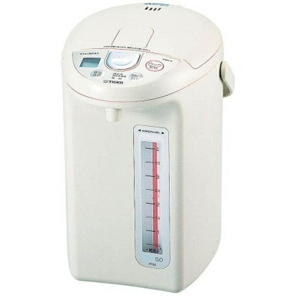 シンプルで分かりやすい大型給湯キーを真ん中に配置し、説明書なしでも誰でもすぐに使えるのが嬉しい電気ポット。大型でたっぷりの容量がありながら、本体は2.7キロと軽く、女性でも使いやすい重量感になっています。  お出かけやお休み時にも便利な6・9時間節電タイマーも搭載されています。