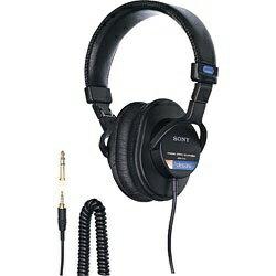 オーディオ, ヘッドホン・イヤホン  SONY MDR-7506 1.2mMDR7506