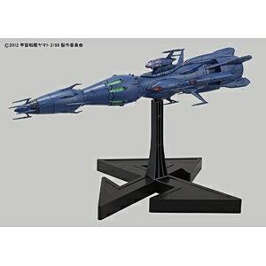 バンダイBANDAIプラスチックキット1/1000宇宙戦艦ヤマト2199独立戦闘指揮艦デウスーラII世・コアシップ