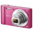【送料無料】 ソニー コンパクトデジタルカメラ Cyber-shot(サイバーショット) DSC-W810(ピンク)[生産完了品 在庫限り][DSCW810PC]