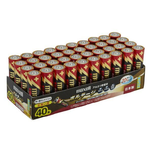 電池, 乾電池  Maxell LR6-T-40P TR 3 VOLTAGE 40 LR6T40PTRrbpcp