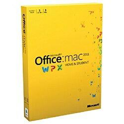 【あす楽対象】【送料無料】 マイクロソフト 〔Mac版〕 Office Home and St…