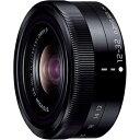 パナソニック Panasonic カメラレンズ LUMIX G VARIO 12-32mm/F3.5-5.6 ASPH./MEGA O.I.S.【マイクロフォーサーズマウント】(ブラック)[HFS12032]