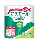 大王製紙 Daio Paper elleair(エリエール) トイレットティシュー コンパクト 香りつき [8ロール /ダブル /45m]