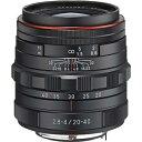 ペンタックス PENTAX カメラレンズ HD PENTAX-DA 20-40mm F2.8-4ED Limited DC WR【ペンタックスKマウント(APS-C用)】(ブラック)[HDPENTAXDA2040MMF2.8]
