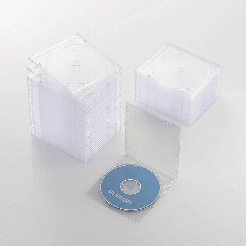 記録用メディアケース, CD・DVDケース  ELECOM CDDVDBlu-ray 150 CCD-JSCS50CR CCDJSCS50CR rbpcp
