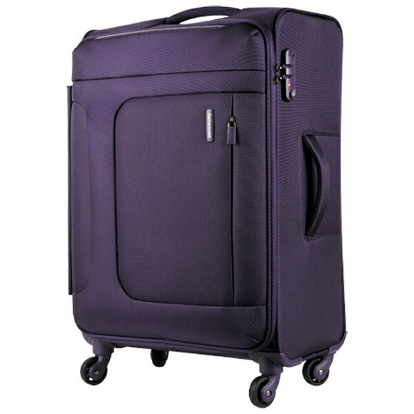 Free shipping Samsonite TSA lock equipped with soft carry Asphere (70 L) purple 72R50002 [products direct from manufacturers and cod delivery cannot be time between acceptable].