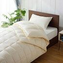 生毛工房(うもうこうぼう)ポーランド産ホワイトグースダウン95%生毛ふとんPR-310(合肌セット/170×230cm/ナチュラル)