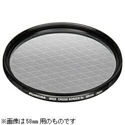 ハクバ HAKUBA 49mm ワイドクロススクリーンフィルター 6× CF-WCS649[CFWCS649]