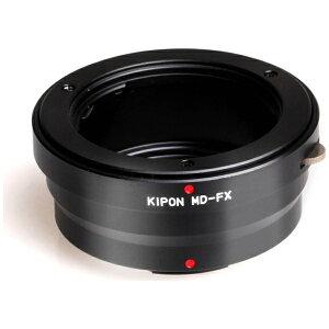 【送料無料】 KIPON マウントアダプター ミノルタSR(レンズ側)—富士フイルムX(ボディ側) M...