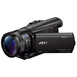 【2014年03月14日発売】【送料無料】ソニーメモリースティック/SD対応4KビデオカメラFDR-AX100[FDR+AX100BC]
