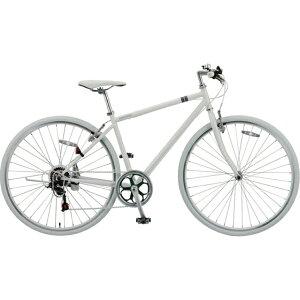 【送料無料】 アサヒサイクル 700C型 クロスバイク シークレットコード700(ホワイト)SCC700【20...