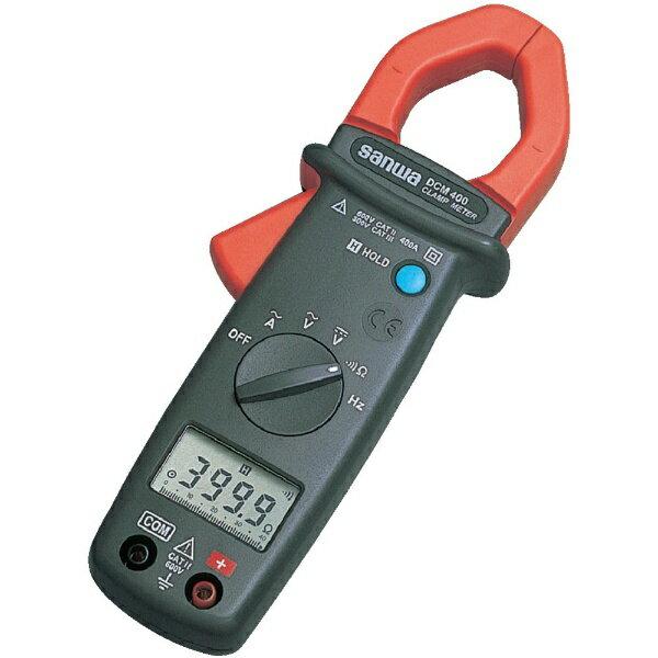 三和電気計器sanwaAC専用デジタルクランプメータDCM400