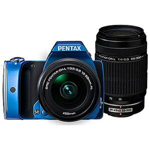 【送料無料】 ペンタックス K-S1【300Wズームキット】(ブルー/デジタル一眼)