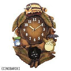 【送料無料】 リズム時計 掛け時計 「となりのトトロ」 4MJ837MN06[4MJ837MN06]