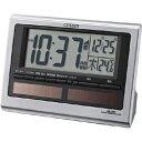 リズム時計 電波目覚まし時計 「パルデジットソーラーR125」 8RZ125-019[8RZ125019]