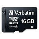 三菱ケミカルメディアMITSUBISHICHEMICALMEDIA 16GB・Class4対応microSDHCカード(SD変換アダプタ無し・防水仕様)MHCN16GYVZ1