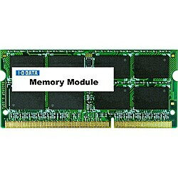 IOデータ PC3L-12800(DDR3L-1600)対応ノートPC用メモリー S.O.DIMM(8GB) SDY1600...