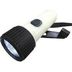 ヤザワ YAZAWA 手回し充電式 暗闇でも見つけやすいLEDライト BL103LPDBK
