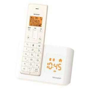 シャープ デジタル コードレス インテリア ホワイト