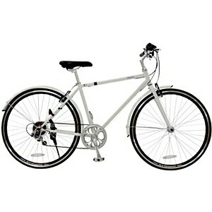 【送料無料】 チャクル 700×23C型 ノーパンククロスバイク チャクル(マッドホワイト/420サイ...