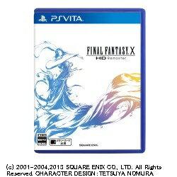 プレイステーション・ヴィータ, ソフト  SQUARE ENIX FINAL FANTASY X HD Remaster PS VitaF.F.XHDREMASTER