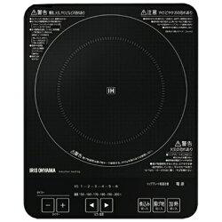 【送料無料】アイリスオーヤマ卓上型薄型IH調理器(1口)IHC-T41-B[IHCT41B]
