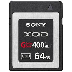 【送料無料】 ソニー 64GB XQDメモリーカード QD-G64A[QDG64A]