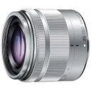 パナソニック Panasonic カメラレンズ LUMIX G VARIO 35-100mm/F4.0-5.6 ASPH./MEGA O.I.S.【マイクロフォーサーズマウント】(シルバー)[HFS35100]