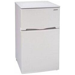 【送料無料】アビテラックス《基本設置料金セット》2ドア冷蔵庫(96L)AR-100E-Wホワイトストライプ[AR100EW]