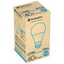 【あす楽対象】 三菱化学メディア LED電球 「Verbatim」(一般電球形・全光束485lm/昼光色・口金E26) LDA7D-G/V2 【ビックカメラグループオリジナル】[LDA7DGV2]