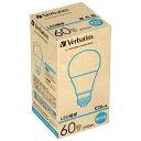 三菱化学メディア LED電球 「Verbatim」(一般電球形・全光束810lm/昼光色・口金E26) LDA10D-G/V2 【ビックカメラグループオリジナル】[LDA10DGV2]