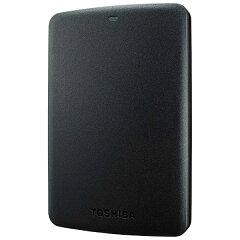 【あす楽対象】【送料無料】 東芝 ポータブルHDD [USB3.0・1TB] CANVIO BASICS HD-ABシリーズ (ブラック) HD-AB10TK