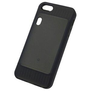 NTTドコモ おサイフケータイジャケット 01対応 iPhone 5s用ジャケット ブラック