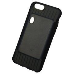 NTTドコモ おサイフケータイジャケット 01対応 iPhone 6用ジャケット ブラック