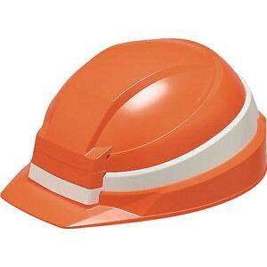 DICプラスチック ディーアイシープラスチック 折りたたみ防災用ヘルメット 「IZANO」 AA13型HA4-K13式(オレンジ/ホワイトライン)