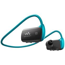 【送料無料】ソニーデジタルオーディオプレーヤーWALKMANWシリーズ(ブルー/16GB)NW-WS615LM[NWWS615LM]