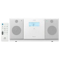 【2014年12月04日発売】【送料無料】JVCラジカセ(ラジオ+CD)ホワイトNXPB30W[NXPB30W]