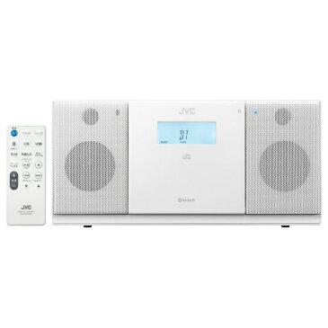 【送料無料】 JVC ジェイブイシー 【ワイドFM対応】CDラジオ(ラジオ+CD)(ホワイト) NXPB30W[NXPB30W]