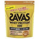 明治meiji SAVAS ホエイプロテイン100 カフェオレ味 50食[CZ7372]