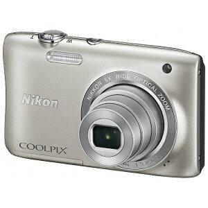 【あす楽対象】【送料無料】 ニコン デジタルカメラ COOLPIX S2900(シルバー)