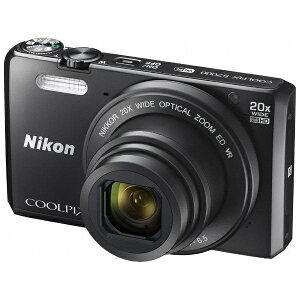 【送料無料】 ニコン デジタルカメラ COOLPIX S7000(ブラック)