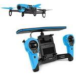 【楽天】 【送料無料】 PARROT Bebop Drone(ビーバップドローン スカイコントローラセット/ブルー)PF725141
