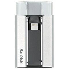 【送料無料】 サンディスク Lightning⇔USB A【iPad/iPhone対応】 USB2.0メモリ[iOS/Mac/W...
