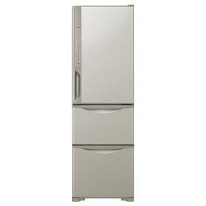 【標準設置費込み】 日立 《基本設置料金セット》3ドア冷蔵庫「真空チルド」(315L) R-K320FV...