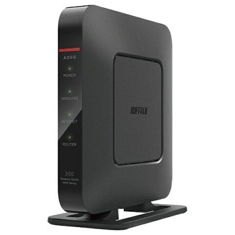 BUFFALO バッファロー WSR-300HP Wi-Fiルーター ブラック [n/g/b][無線LANルーター WSR300HP]