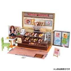 【楽天】リカちゃん ドーナツいっぱい ミスタードーナツショップ