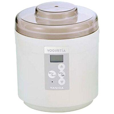 【送料無料】 タニカ電器 ヨーグルトメーカー 「ヨーグルティア スタートセット」 YM-1200PLUS-NW ホワイト