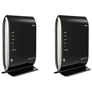 【送料無料】 NEC 無線LANルータ 親機&子機セット Wi-Fi[無線ac/n/a/g/b…