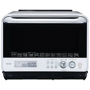 【送料無料】 東芝 過熱水蒸気オーブンレンジ 「石窯ドーム」(30L) ER-ND300-W …
